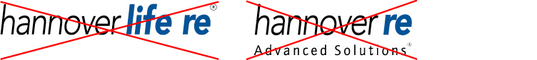 Logos Hannover Life Re und Hannover Re Advanced Solutions